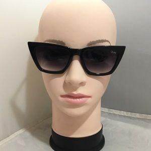 Quay x Desi Perkins Don't @ Me Cat Eye Sunglasses